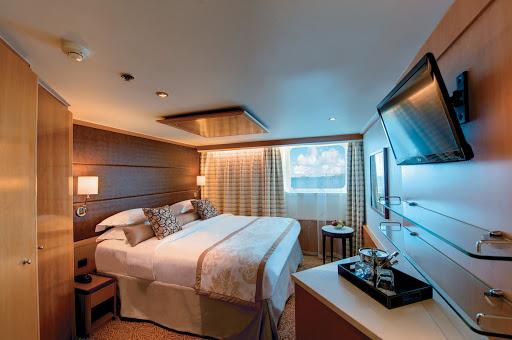 Tere-Moana-Window-Stateroom - A Window Stateroom aboard Tere Moana.