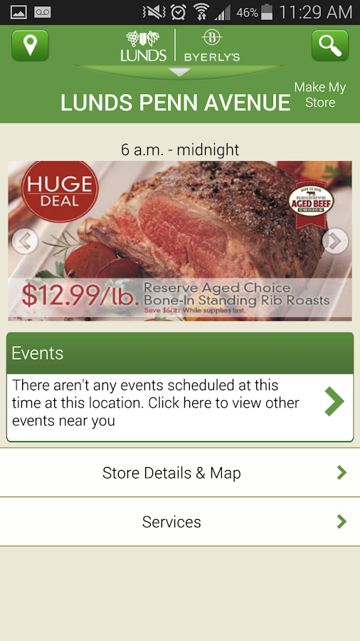 Lunds and Byerly's - screenshot