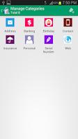 Screenshot of Password Vault Lite