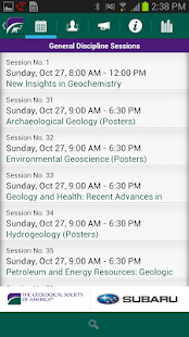The GSA 2013 Annual Meeting - screenshot thumbnail