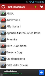 Tutti i Quotidiani Italiani - screenshot thumbnail