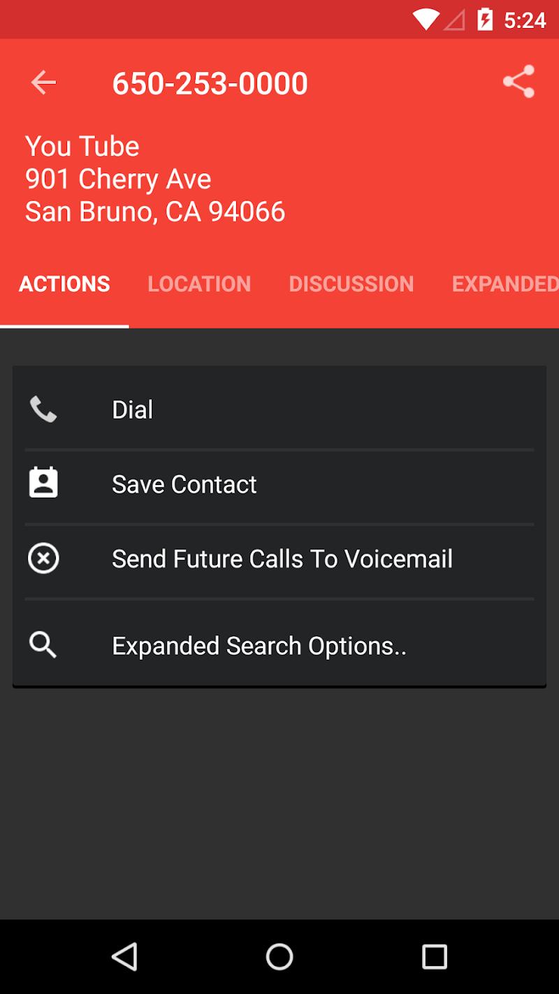 Reverse Lookup PLUS w/ Live Caller ID Screenshot 1
