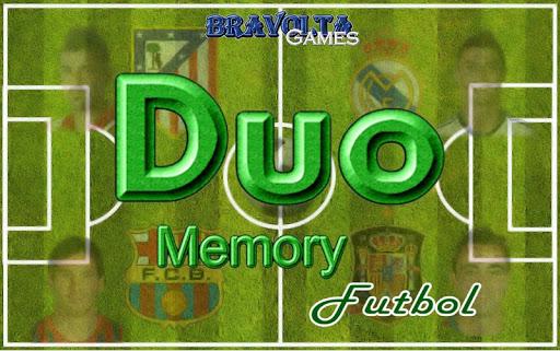 Duo Memory Futbol