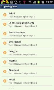 Imparare il portoghese- screenshot thumbnail