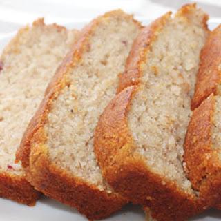 Gluten Free (and Vegan) Banana Loaf Recipe.