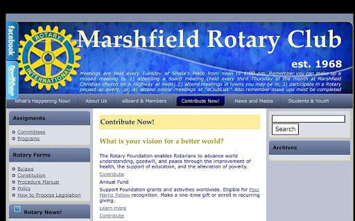 【免費教育App】Marshfield Rotary-APP點子