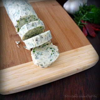 Italian Herb Butter and Cheese #Diy Recipe