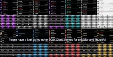 Screenshot of Dialer FrameSilverWhite Skin