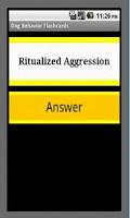 Screenshot of Dog Behavior Flashcards