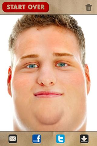 FatBooth: captura de pantalla