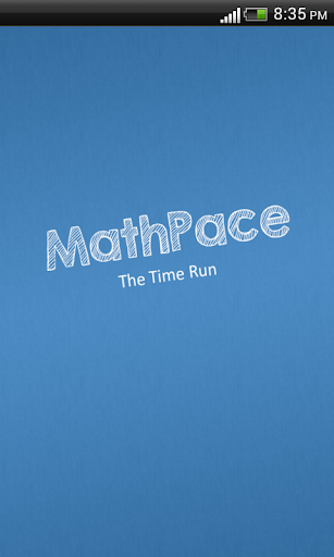 MathPace - The Time Run