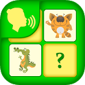 Guess game with animals icon