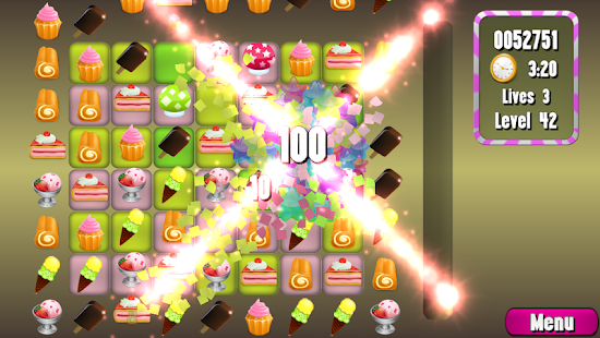 Cake Match 3- screenshot thumbnail