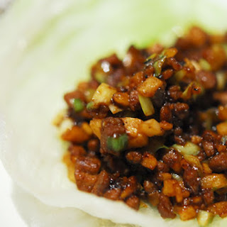 Wanna-be PF Chang's Lettuce Wraps.