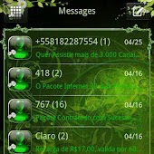 Nature v2 GO SMS Theme