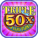Triple 50x Pay Slot Machine icon