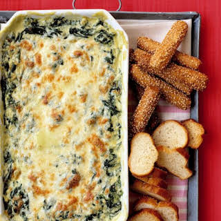 Hot Spinach Dip.