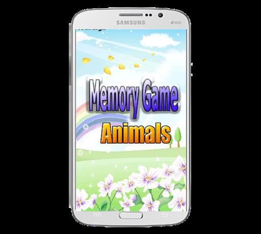 Memory Game animals kids