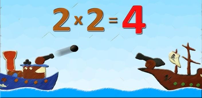 Приложение для детей 2x2=4 - изучаем таблицу умножения