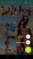 screenshot of Motorola Gallery