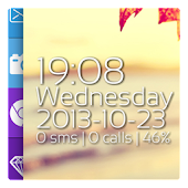 WinPhone8 Clock Zooper Skin