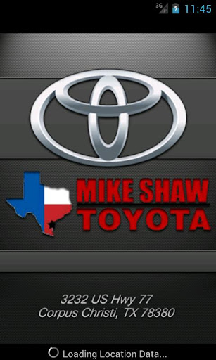 Mike Shaw Toyota DealerApp