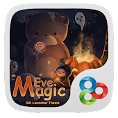 Magic Eve GO Launcher Theme