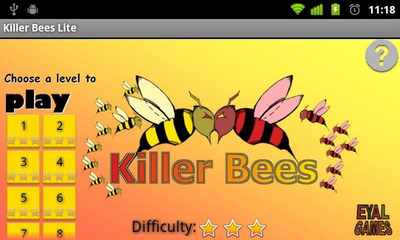 Killer Bees Lite - screenshot