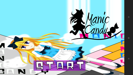 Manic Candy - 不思議な横スクロールアクション