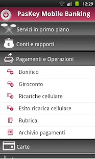 Banca MPS per Smartphone - screenshot thumbnail