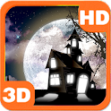 Haunted Cemetery Spooky Moon icon