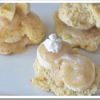 Banana Cream Cakes