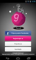Screenshot of Planet 9 Aplikacija