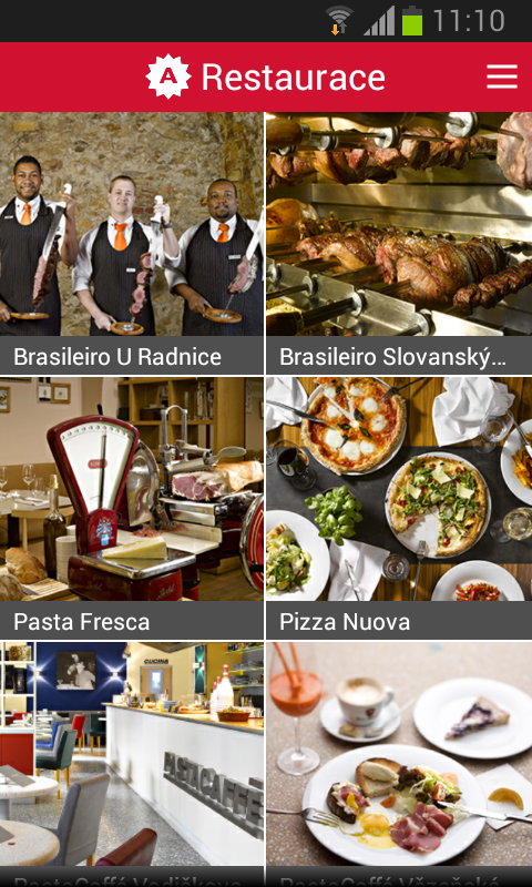 Ambiente Restaurants- screenshot