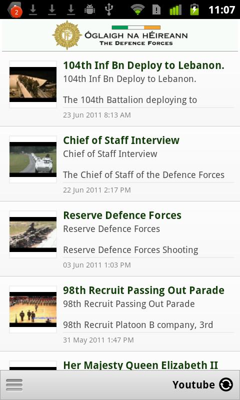 Defence Forces Ireland - screenshot