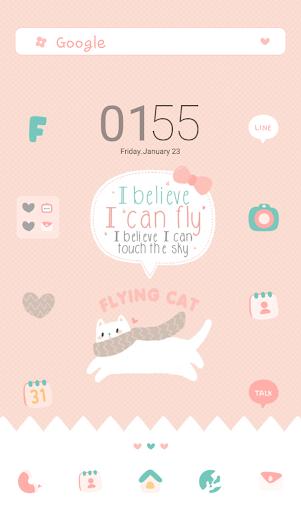 flying cat 도돌런처 테마