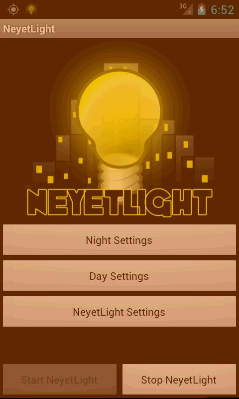 NeyetLight- screenshot
