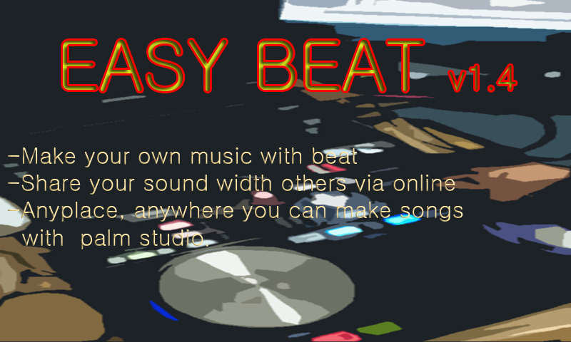 EASY BEAT, make your own song- screenshot