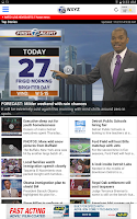 Screenshot of WXYZ Channel 7 Detroit