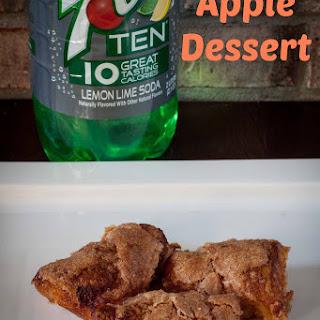 7Up TEN Apple Dessert
