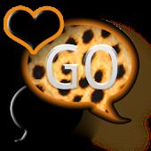 GO SMS THEME/OrangeCheetah