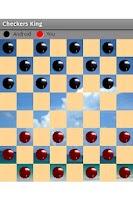 Screenshot of Checkers King Free