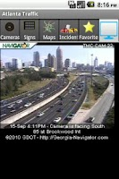 Screenshot of Atlanta Traffic