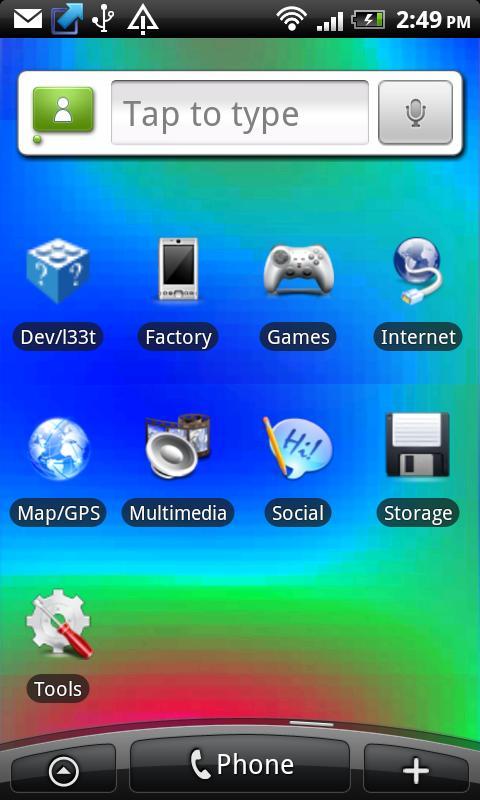 Plasma Live Wallpaper- screenshot