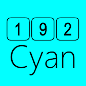 192C Cyan Icon Pack