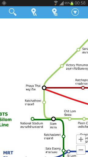 曼谷地鐵地圖