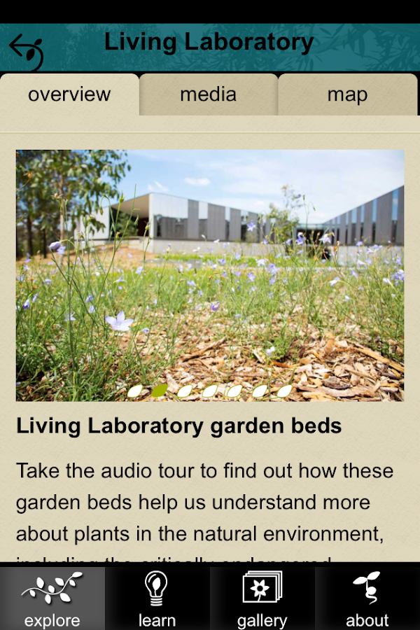 The Australian PlantBank- screenshot