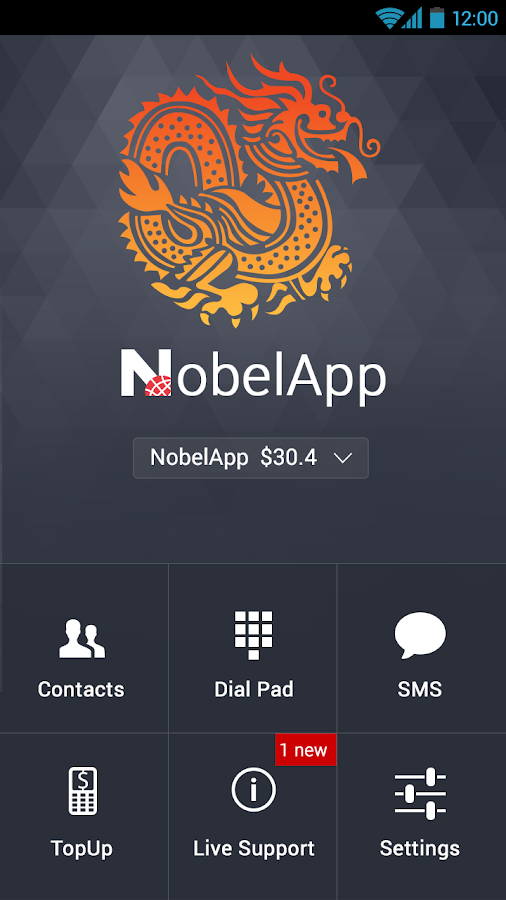Nobel App - screenshot