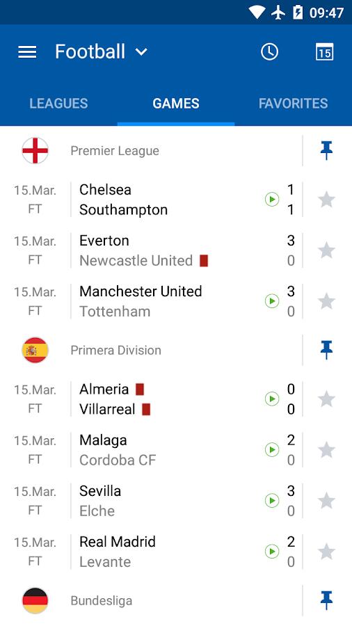 SofaScore LiveScore - screenshot