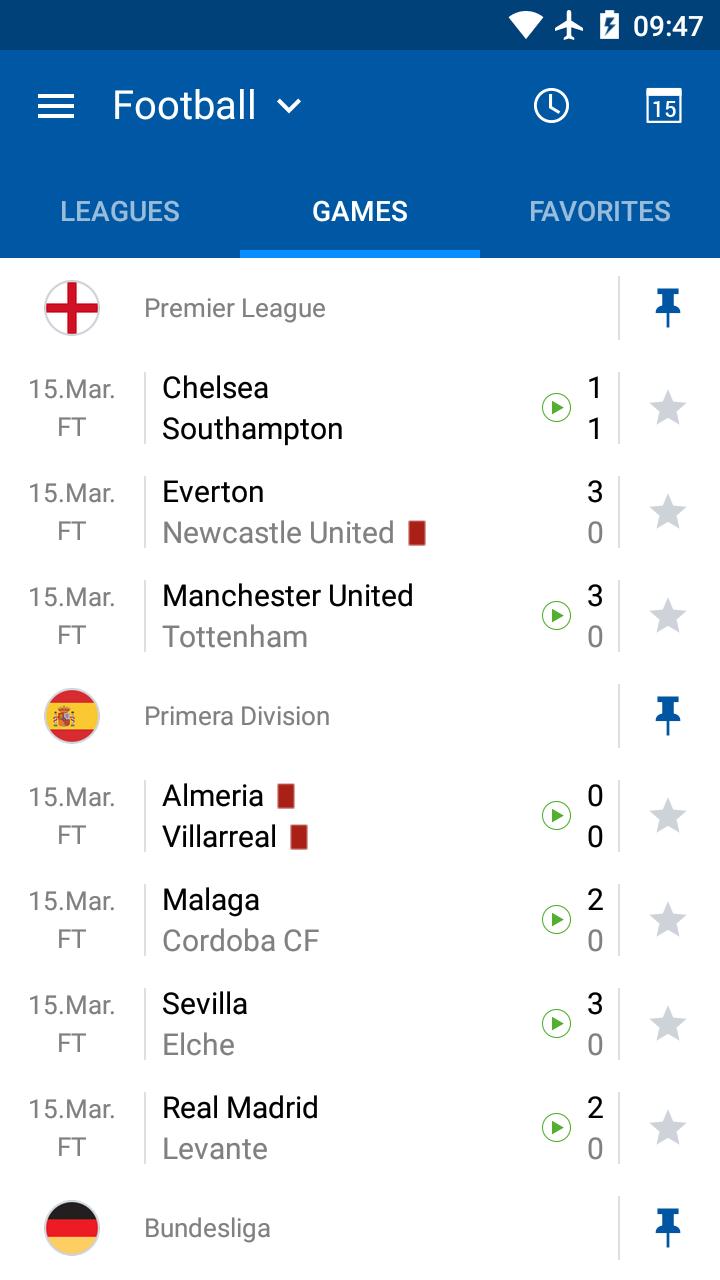 LiveScore results - SofaScore screenshot #5
